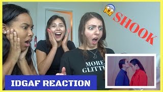 Dua Lipa - IDGAF (Official Music Video) [REACTION]