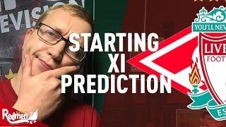 Spartak Moscow v Liverpool | Starting XI Prediction Show