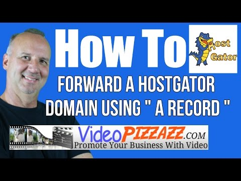 How To Forward A HostGator Domain Using A RECORD And CNAME - 404 Error
