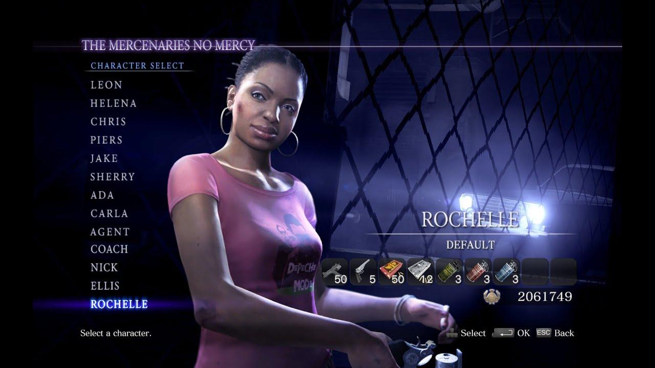 Resident Evil 6 Elicottero : Resident evil mercenaries no mercy solo rochelle l d