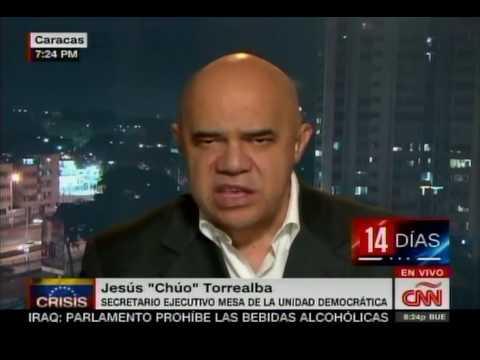 Chúo Torrealba dice que sí habrá reunión de diálogo el domingo, piden que no sea en Margarita