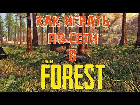 КАК ИГРАТЬ В THE FOREST ПО СЕТИ НА ПИРАТКЕ!?!?