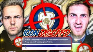 FIFA 18: ICON DISCARD Pack Quiz vs MattHDGamer 😱🔥
