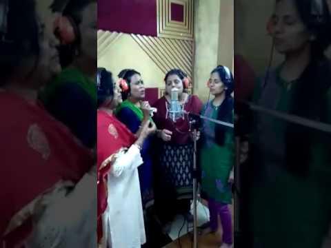 Nirahua Hindustani 2 making of music at studio