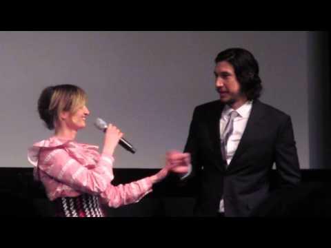 Adam Driver, Alba Rohrwacher, Hungry Hearts Premiere, Tribeca Film Festival Pt 2