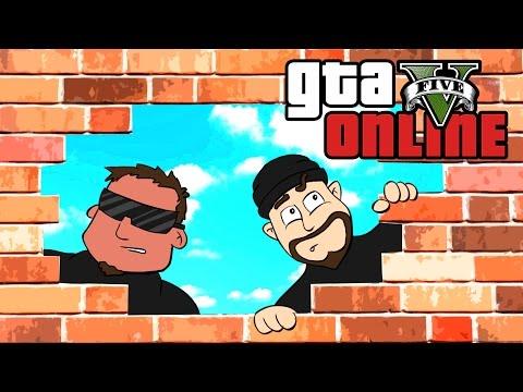 GTA 5 Online ★ REVERSE PRISON BREAK (Dumb & Dumber)