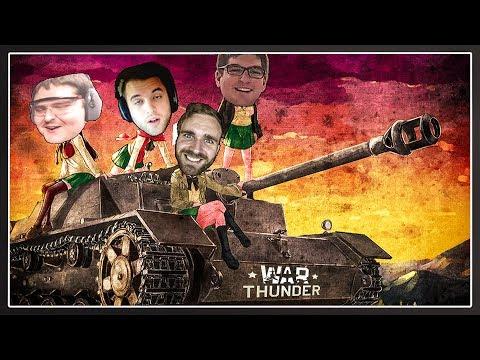 The Four Tankmen Of The Adpocalypse | War Thunder