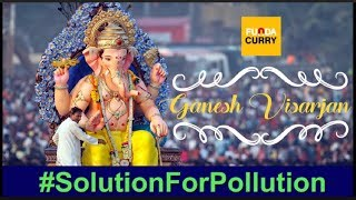 Funda Curry | Best Ganpati Visarjan #SolutionForPollution