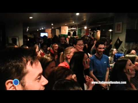 ITALY vs ENGLAND WorldCup 2014, by Italians of London