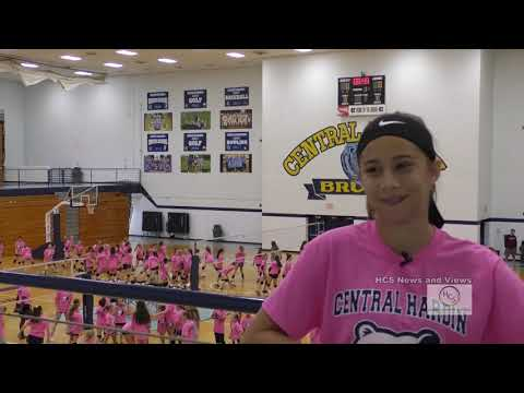 Central Hardin High School Volleyball Camp June 11, 2019