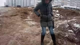 Жительница Садового рассказывает о дороге между районами