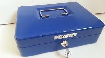 Biltema Cash Box Art. 85-620