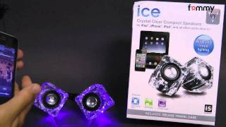 dreamGEAR® Ice Compact Speakers from iSound Review in HD