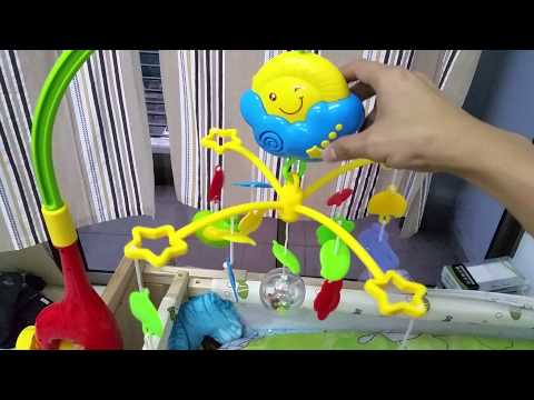 MEIBEILE BEDDING ELECTRIC MUSIC HANGING TOY