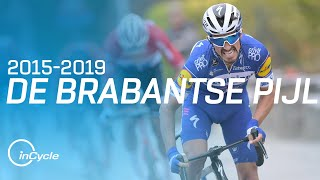 The Best of De Brabantse Pijl from 2015 to 2019 | inCycle