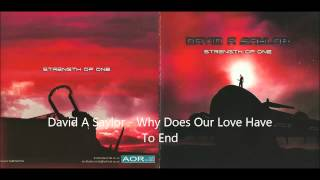 David Saylor - Why Does Our Love Have To End