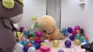 Boneka lucu marah marah