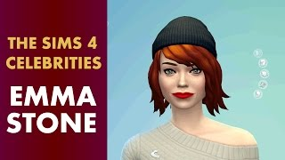 The Sims 4 Celebrities - Emma Stone