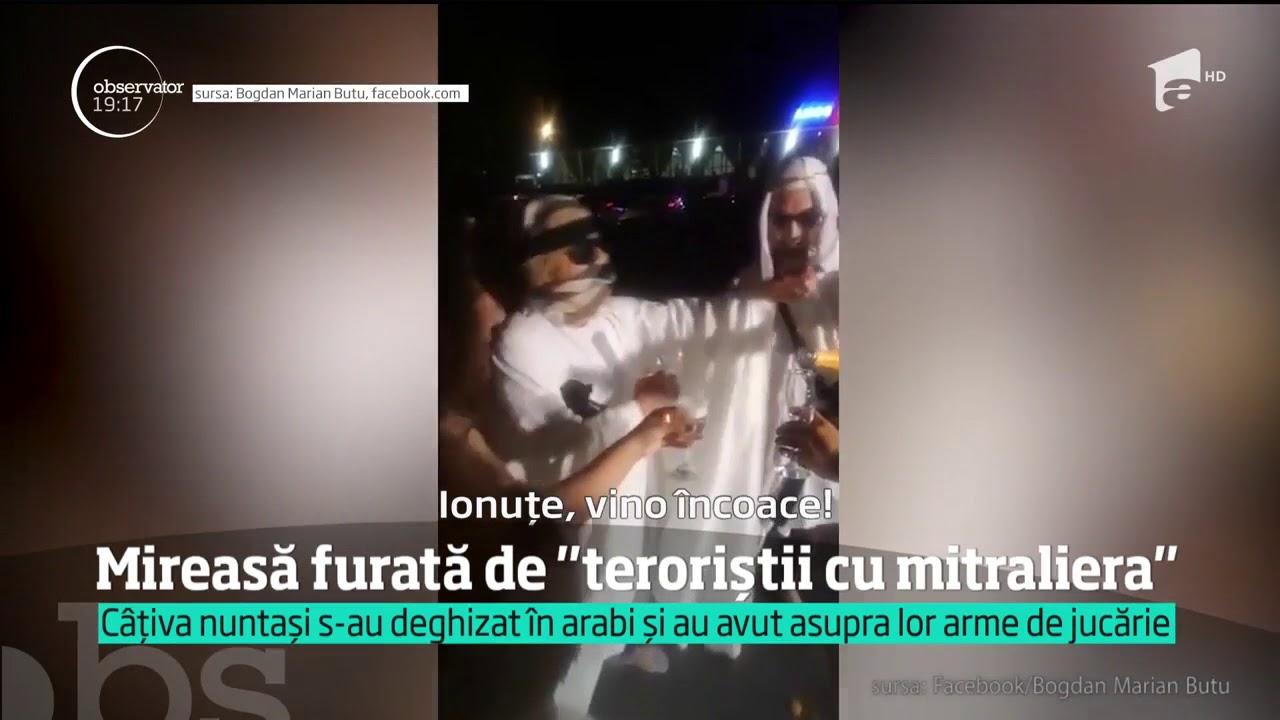 O Mireasă A Fost Furată De Terorişti La O Nuntă Din Staţiunea Mamaia