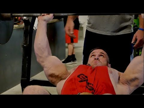 Trevor Hacker - Road to the NPC Branch Warren: CHEST TRAINING