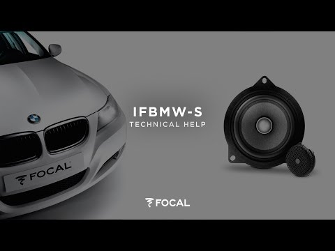Kit auto BMW IFBMWS - Focal | Focal | Listen Beyond
