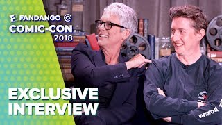 Jamie Lee Curtis from 'Halloween' is Going Into the Knife Business | Comic-Con 2018 Full Interview