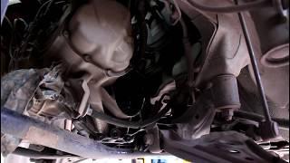 Замена сальника привода и масла в МКПП на Chevrolet Aveo Шевроле Авео 2009 года