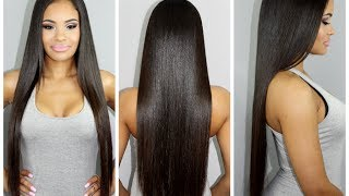 One of BeautyByGabbie's most viewed videos: My Hair Care Routine for Long & Healthy Hair (highly requested!)