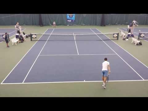 UNC tennis ITA National Indoor 2017