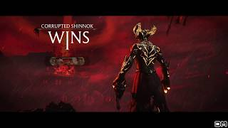 Mortal Kombat XL Corrupted Shinnok Head Toss All Kombat Pack 2 Characters & Variations (Celebration)