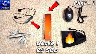 Cool Gadgets Under Rs 500 [ Part 1 ] 🔥 Unique Tech Gadgets Unboxing
