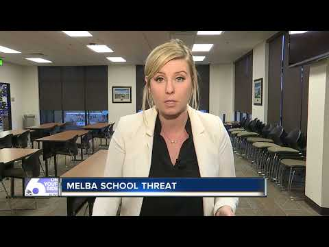 Violent threat averted at Melba Elementary School
