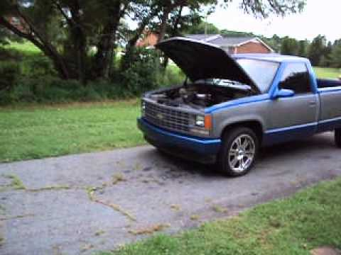 My 1989 chevy 1500 long bed fixing back up  YouTube