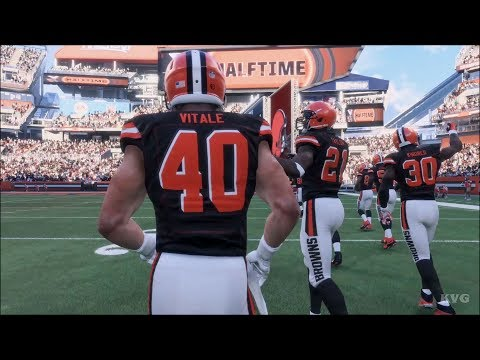 Madden NFL 18 - Cleveland Browns vs Dallas Cowboys - Gameplay (HD) [1080p60FPS]