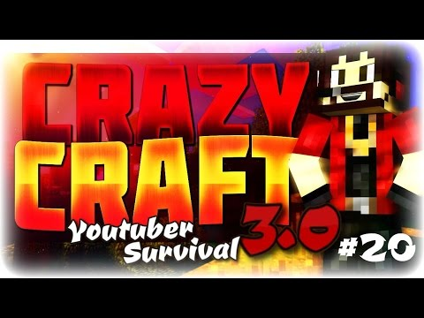 """Minecraft Crazycraft 3.0 Youtuber Survival #20 """"Making Jet Planes!!!!"""" (Mc Helicopters Mod)"""
