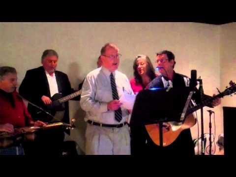 Big Ed sings Bluegrass Gospel, in Richmond, VA