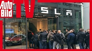 Tesla Model 3 (2016): Vorbestellung in Hamburg
