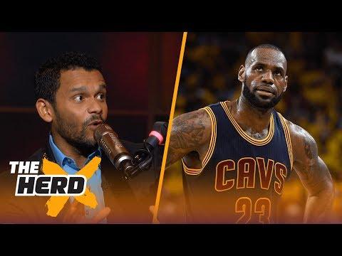 LeBron's fault Kyrie wants out? Knicks best spot for Kyrie? Jason McIntyre explains | THE HERD