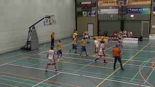 19 october 2019 Rivertrotters MSE2 vs Utrecht Bull's MSE2 57-63 1st period