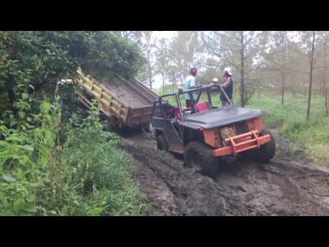 Rescue Mitsubishi Fuso HD125 PS Dump Truck with Daihatsu Taft GT 1990