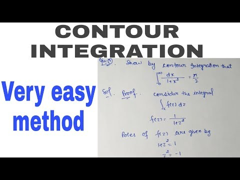 Contour Integration By Method Of Cauchy Residue Theorem Part - 1 #mathslogy#