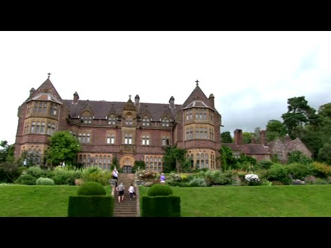 Knightshayes Victorian Gothic Revival House And Gardens Mid Devon.