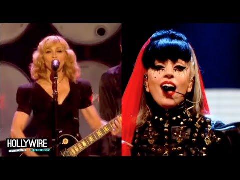 Lady Gaga Mocks Madonna - Feud Continues!