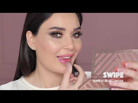 M·A·C Cosmetics: Rose Gold Glam With Cyrine Abdelnour