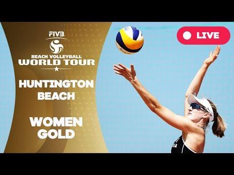 Huntington Beach - 2018 FIVB Beach Volleyball World Tour - Women Gold Medal Match