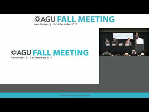 2017 Fall Meeting Press Conference: Hurricanes Harvey, Irma and Maria – Part 1