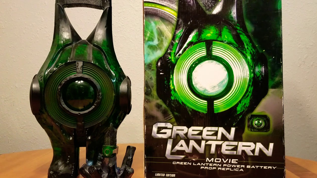 Green Lantern power battery (Movie Edition) (Review) - YouTube