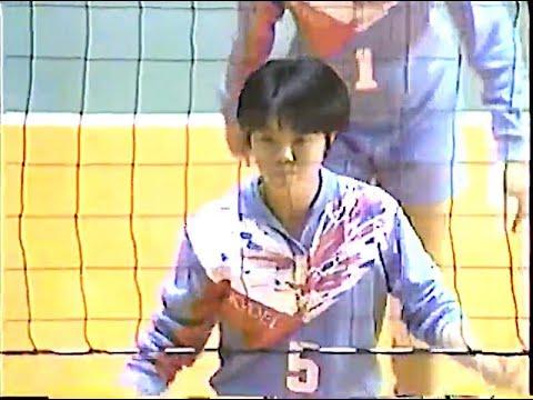 1995年 春高バレー女子決勝 共栄学園×八王子実践