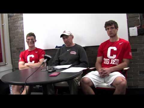Postgame Interviews: Cornell Men's Lacrosse vs. Brown - 4/23/16