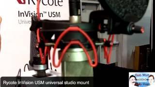 Winter NAMM 2013 Rycote InVision USM Universal Studio Mount